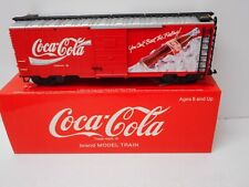 "LGB 4391 Coca-Cola ""Can't Beat the Feeling!"" Box Car G Scale"