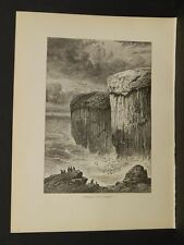 Picturesque Europe Great Britain Fingal's Cave Staffa    i1#94