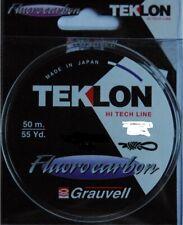 Nylon Grauvell Teklon Fluorocarbon 50m diamètre 17,5/100 résistance 2,3kg