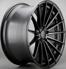 4X 20 INCH OC15 209 2010 HOLDEN VE VF FORD BF FG F6 XR8 BF CONCAVE MATTE BLK