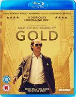 Gold [Blu-ray] [2017] [DVD][Region 2]