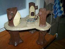Vintage Original 1983 Kenner Star Wars Ewok Village Chief & campfire piece