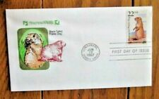 Prairie Dog Wildlife Of The Fifty States 1987 Nwf Farnam Cachet Fdc