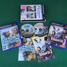 (PS2) TOM CLANCY'S ACTION PACK 2 Giochi (ITA) RAINBOW SIX 3 + GHOST PlayStation