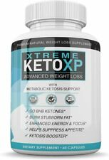 KETO XP XTREME-ADVANCED WEIGHT LOSS 1 MONTH SUPPLY 60 CAPSULES **FAST SHIPPING**
