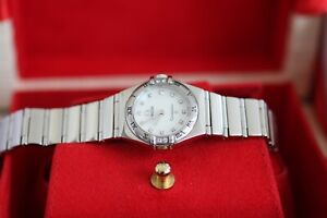 Omega My Choice Constellation Diamond Dial 22.5m 1566.76 Box Set A1 Condition.