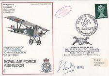 SC5 RAF Abingdon  Signed Air Vice Marshal F B  Sowrey CO 46 Sqn