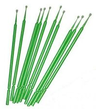 PK.10 MICROBRUSH (GREEN) REGULAR MINI PAINT BRUSHES FOR MODEL KITS AIRFIX ETC