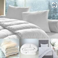 LUXURY 4.5 10.5 13.5 15 TOG DOUBLE KING SIZE DUVET SOFT COZY EXTRA DEEP QUILT