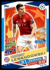 Match Attax Champions League 16/17 Robert Lewandowski Bayern München No. BAY15