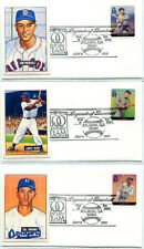 COVERSCAPE Bowman 1951 Reprint card cacheted Legends of Baseball FDC collection