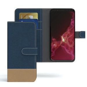 Sac pour Samsung Galaxy S9 Jeans Étui Téléphone Portable Housse Coque Bleu Foncé