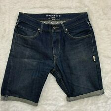 NEIGHBORHOOD Narrow Straight Jean Shorts (altered) Size 34