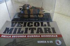 Veicoli Militari PANZER/TANK CHAR SOMUA S-35 1:43 CON FASCICOLO IXO