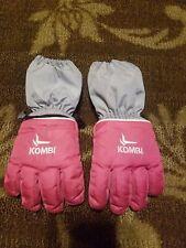 New listing Kombi Kids Ski Gloves Sz M Medium Child Toddler Pink Snowboard