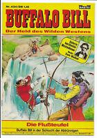 Buffalo Bill Nr.434 von 1977 - TOP Z1 BASTEI WESTERN COMICHEFT Hansrudi Wäscher