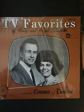 TV Favorites by Henry and Hazel Slaughter LP Cathedral Recording LPM-120 HS vg+