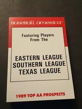 1990 Baseball Americana Top AA Prospects Set SOSA Juan Gonzalez Bernie Williams