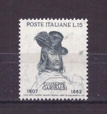 FRANCOBOLLI Italia Repubblica 1957 Giuseppe Garibaldi 15 Lire MNH** SAS823