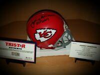 Johnny Robinson Kansas City Chiefs Signed Autographed Mini Helmet Tristar COA