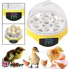 7 Eggs Digital Automatic Egg Incubator Poultry Chicken Duck Goose Bird Hatcher