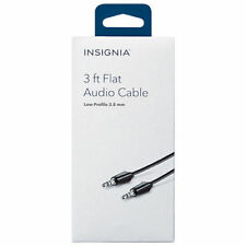 Insignia 1.8m (6 ft.) 3.5mm Audio Cable Model #: NS-MP3AX-C