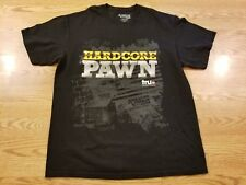 American Jewelry and Loan Men's HARDCORE PAWN Crew Neck BLACK T-Shirt Size L