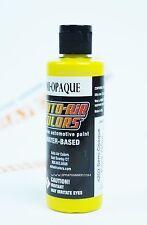 Createx Auto-Air Colors 4oz Semi-Opaque Flame Yellow 4203 Custom Airbrush Paint