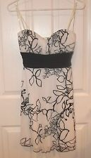 SPEECHLESS~PROM DRESS~LARGE~NEW Dressy Shift Short PARTY Cocktail~Black White