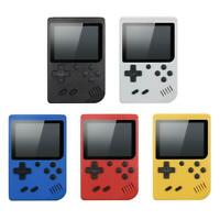 Retro Handheld Game Console System 400 Games Built Portable J3G9