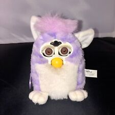 Vintage 1999 Model 70-940 Purple W/ Brown Eyes Furby Tiger Electronics Hasbro