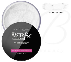 MAYBELLINE Master Fix Setting + Perfecting Loose Face Powder Translucent *NEW*