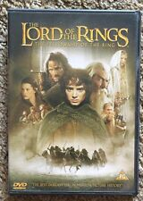 THE LORD OF THE RINGS THE FELLOWSHIP OF THE RING DVD TWO DISC EDITION