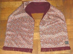 VINTAGE DUGGIE MAJESTIC REVERSIBLE SCARF SCOOTER MOD INDIE GOODWOOD 1960s TOOTAL