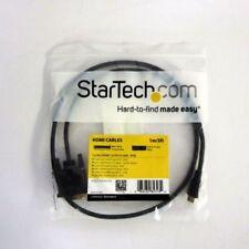 STARTECH.COM HDCDVIMM1M 1m MINI HDMI TO DVI-D CABLE-M/M