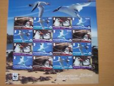 ASCENSION ISLAND,2011,BIRD,RED BILLED TROPICBIRD,SHEETLET OF 16 STAMPS,CAT £29.