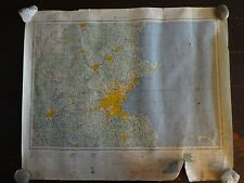 1957 - Large Geographic Map of Boston, Massachusetts - Army Map Service