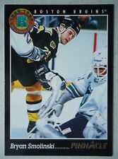 NHL 217 Bryan Smolinski Boston Bruins Rookie Pinnacle 1993/94