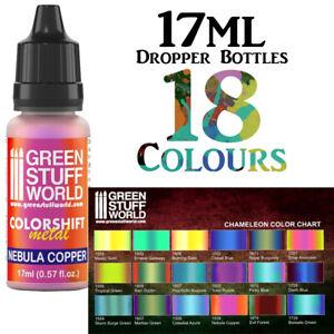 Chameleon Colorshift Paints Green Stuff World Pearlescent Modelling Paints 17ml