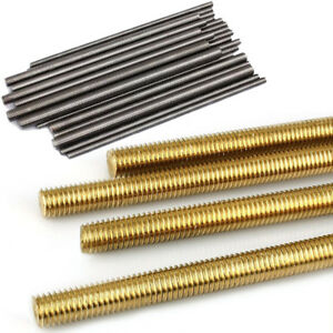 Stainless/Brass Threaded Rod Bar M2 M2.5 M3 M4 M5 M6 M8 M10 M12 M16 Full-Thread