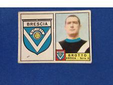 FIGURINA CALCIATORI PANINI STICKERS 1963/64 BRESCIA SCUDETTO/BROTTO NUOVA