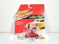 Johnny Lightning Hot Rods 1934 Coupe - Red - 1:64 Diecast - NEW NOC