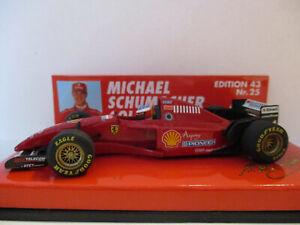 FERRARI F310, #1, Michael Schumacher, 1996 Launch Version!!!