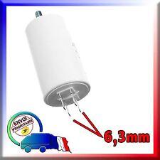 2uF pour moteur Profalux Condensateur de démarrage de 2μF
