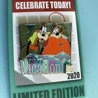 Disney Pin Celebrate Today Series #1 National Vacation Planning Day LE 4000