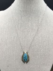Barse Contempo Necklace- Turquoise & Mixed Metal- NWT