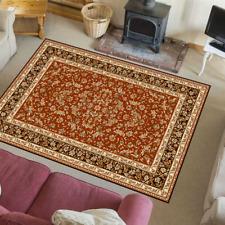 Teppich Klassisch Orientalisches Design Perser mit Umrandung Hermiona Rot-Terra
