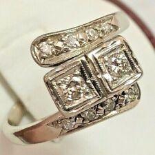 Bypass 1/4 Ctw Size 7 New ListingVintage Antique Diamond Ring