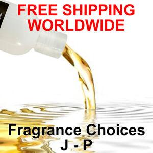 PREMIUM Scented Bath Body Massage Oil J - P Fragrance Choices VEGAN/CRUELTY FREE