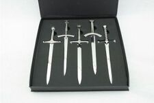 More details for game of thrones 5 piece letter opener set gift boxed.beautifully presented.